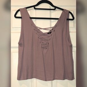 V-neck crop top blouse